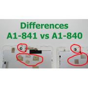 A1-841 Bílý LCD Dotyk + Displej pro ACER ICONIA A1-841 6M.L54N9.001 Assembly