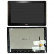 A3-A40 Černý LCD Displej + Dotyk pro ACER ICONIA A3-A40 6M.LCANB.001 Assembly