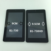 B1-730 Černý LCD Displej + Dotyk pro Acer Iconia B1-730 6M.L4KN7.001 Assembly