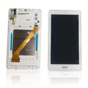B1-760HD Bílý LCD Displej + Dotyk pro Acer Iconia B1-760HD 6M.LB4N8.001 Assembly