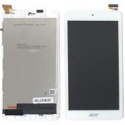 B1-780 Bílý LCD Displej + Dotyk pro Acer Iconia One 7 B1-780 6M.LCKNB.001 Assembly