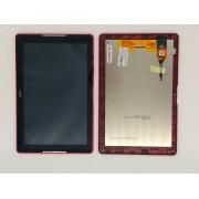 B3-A30 Červený LCD Displej + Dotyk pro Acer Iconia B3-A30 6M.LD9NB.001 Assembly