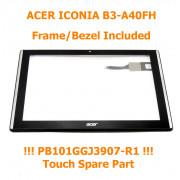 B3-A40FHD Černý Dotyk pro Acer Iconia B3-A40FHD 6M.LDZNB.001 Touch