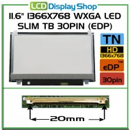 "11.6"" 1366x768 HD LED Slim TB 30pin (eDP)"
