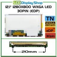 """12.1"""" 1280x800 WXGA LED 30pin (eDP)"""