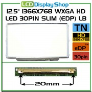 LP125WH2-TPB1 LP125WH2 (TP) (B1) laptop displaz