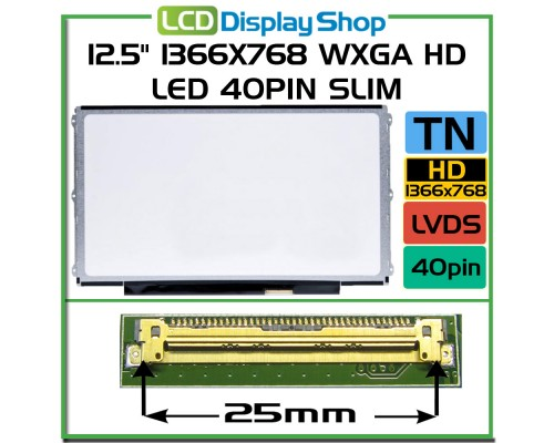 LP125WH2 TLFA laptop displej - LG Display (LP)