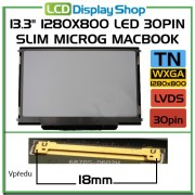 LTN133AT09 13,3 Laptop display