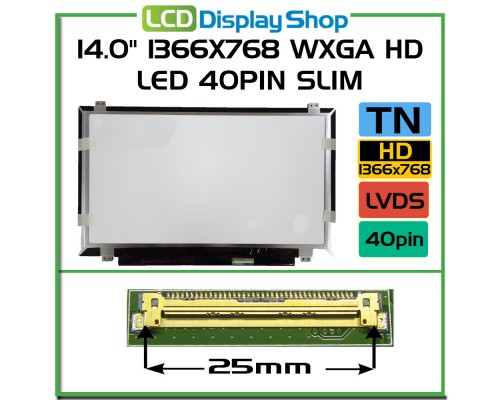 LP140WH2-LTM1 Laptop Displej - LG Display (LP)