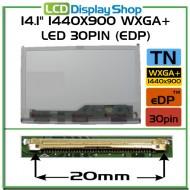 """14.1"""" 1440x900 WXGA+ LED 30pin (eDP)"""