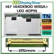 """14.1"""" 1440x900 WXGA+ LED 40pin"""