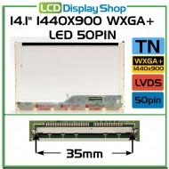 """14.1"""" 1440x900 WXGA+ LED 50pin"""