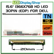 "15.6"" 1366x768 HD LED 30pin (eDP) pro Dell"