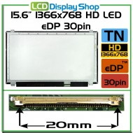 "15.6"" 1366x768 HD LED 30pin Slim (eDP)"