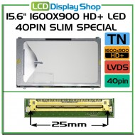 "15.6"" 1600x900 HD+ LED 40pin Slim Special"
