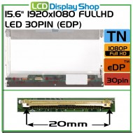 "15.6"" 1920x1080 Ful lHD LED 30pin (eDP)"