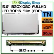 "15.6"" 1920x1080 Full HD LED 30pin Slim (eDP)"