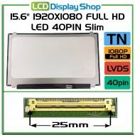 "15.6"" 1920x1080 Full HD LED 40pin Slim"