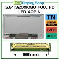 """15.6"""" 1920x1080 Full HD LED 40pin"""