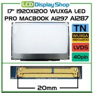 "17"" 1920x1200 WUXGA LED pro MacBook A1297 A1287"