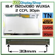 """18.4"""" 1920x1080 WUXGA 2 CCFL 30pin"""