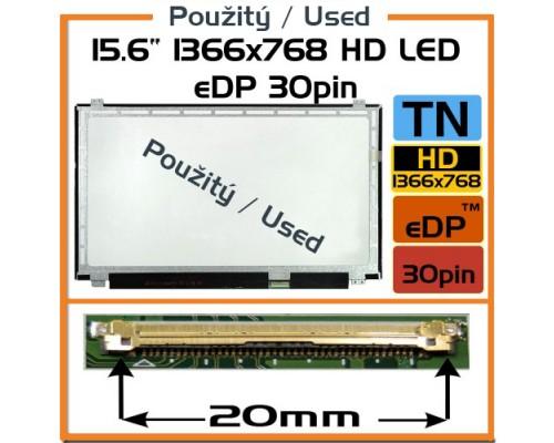 "LP156WH3-TPS2 LP156WH3 (TP) (S2) Laptop Displej - 15.6"" 1366x768 HD LED 30pin Slim (eDP)"