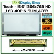 """Dotykový - 15.6"""" 1366x768 HD LED 40pin Slim ACER"""