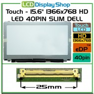 "Dotykový - 15.6"" 1366x768 HD LED 40pin Slim DELL"