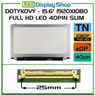 """Dotykový - 15.6"""" 1920x1080 Full HD LED 40pin Slim"""