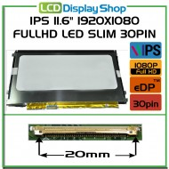 "IPS 11.6"" 1920x1080 FullHD LED Slim 30pin (eDP)"
