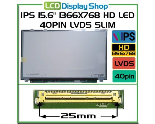 "LP156WHA-SLA2 15,6 Laptop Displej - IPS 15.6"" 1366x768 HD LED 40pin LVDS Slim"
