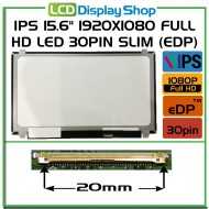 "IPS 15.6"" 1920x1080 Full HD LED 30pin Slim (eDP)"