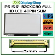 "IPS 15.6"" 1920x1080 Full HD LED 40pin Slim"
