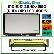 "IPS 15.6"" 3840×2160 (UHD) (4K) LED 40pin Slim (eDP)"