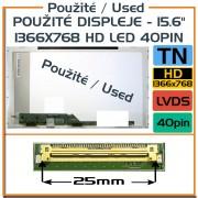 Použité displeje - LP156WHA-TLA1 LP156WHA (TL) (A1) 15,6 Laptop Displej