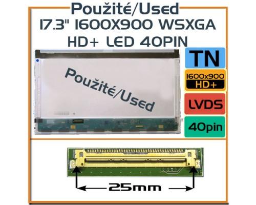 17,3 LP173WD1 (TL) (A1) 17,3 Laptop Displej - Použité LCD