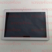Lenovo TAB2 A10-30 TB2-X30 X30F Assembly LCD Screen Touch Frame 1280x800 B101EAN02.2 5D68C04083 White Bilý