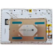 A10-70 Bílý LCD Displej + Dotyk pro Lenovo TAB2 A10-70F A10-70 5D68C02040 Assembly