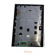 Miix 320 HD Černý LCD Displej + Dotyk pro Lenovo Miix 320-10ICR HD 5D10N89976 Assembly