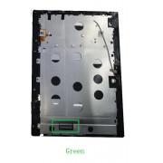 Miix 320 FHD Černý LCD Displej + Dotyk pro Lenovo Miix 320-10ICR FHD 5D10N38138 Assembly