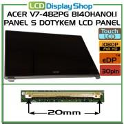 ACER V7-482PG B140HAN01.1 panel s dotykem LCD Panel