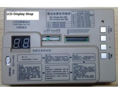 LVDS 40pin Test Tool Laptop LCD Screen Tester Support 7 -55 Inch LVDS interface - Nářadí - Testy - Díly