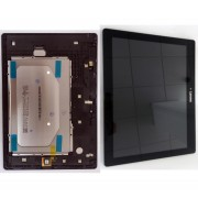 Black - Tab 2 A10-30 TB2 X30F Assembly LCD Touch Frame 1280x800 B101EAN02.2 5D68C03676
