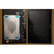 LCD + Touch Screen / Digitizer + Frame for 5D68C01484 TAB 2 A10-70 Tablet TAB 2 A10-70F, TAB 2 A10-70L B101UAN07.0 LCD Black