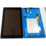 TB3 710 Lenovo Tab 3 7 - TB3-710 Assembly Light blue assemble Used lcd + digitizer