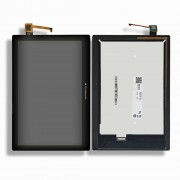 LCD + Touch Screen / Digitizer + Frame pro 5D68C01484 TAB 2 A10-70 Tablet TAB 2 A10-70F, TAB 2 A10-70L B101UAN07.0 LCD Black